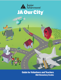 JA Our City curriculum cover